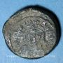 Coins Empire byzantin. Maurice Tibère (582-602). Décanoummion, 2e émission, 3e indiction. Carthage, 584/5