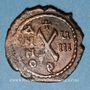 Coins Empire byzantin. Maurice Tibère (582-602). Décanoummion. Antioche, 589-590
