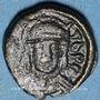 Coins Empire byzantin. Maurice Tibère (582-602). Décanoummion. Atelier italien incertain, 582-602