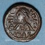 Coins Empire byzantin. Maurice Tibère (582-602). Décanoummion. Carthage, 587/588 ou 602