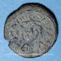Coins Empire byzantin. Maurice Tibère (582-602). Décanoummion. Constantine en Numidie, 582-602