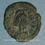 Coins Empire byzantin. Maurice Tibère (582-602). Décanoummion. Ravenne, 586-602