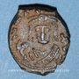 Coins Empire byzantin. Maurice Tibère (582-602). Décanoummion. Théoupolis (Antioche), 598-599