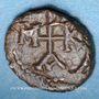 Coins Empire byzantin. Maurice Tibère (582-602). Noummion, Carthage, 587-588