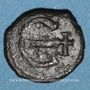 Coins Empire byzantin. Maurice Tibère (582-602). Pentanoummion. Antioche, 588-591