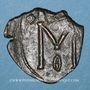 Coins Empire byzantin. Michel II d'Amorium (820-829). Follis. Constantinople, 820-829