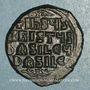 Coins Empire byzantin. Monnayage anonyme attribué à Basile II et Constantin VIII. Follis, classe A3