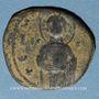 Coins Empire byzantin. Monnayage anonyme attribué à Michael IV (1034-1041). Follis, classe C