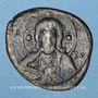 Coins Empire byzantin. Monnayage anonyme attribué à Nicéphore III (1078-1081). Follis, classe I