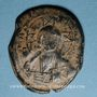 Coins Empire byzantin. Monnayage anonyme attribué à Romain III (1028-1034). Follis, classe B