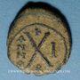 Coins Empire byzantin. Phocas (602-610). Décanoummion. Téoupolis (Antioche), 602-603