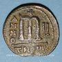 Coins Empire byzantin. Phocas (602-610). Follis. Théoupolis (Antioche), 603-604