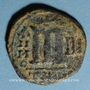 Coins Empire byzantin. Phocas (602-610). Follis. Théoupolis (Antioche), 604-605