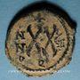Coins Empire byzantin. Tibère II Constantin (578-582). 1/2 follis. Théoupolis (Antioche), 580-581
