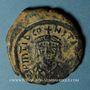 Coins Empire byzantin. Tibère II Constantin (578-582). 3/4 follis (= 30 noummia). Constantinople, 579-582