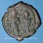Coins Héraclius (610-641) et Héraclius Constantin (613-631) Follis. Constantinople, 1ère officine, 629-630