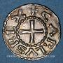 Coins Charles le Chauve (840-877). Denier. Bourges