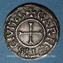 Coins Charles le Chauve (840-877). Denier. Chartres