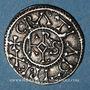 Coins Charles le Chauve (840-877). Denier. Courcessin
