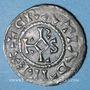 Coins Charles le Chauve (840-877). Denier. Reims