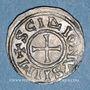 Coins Charles le Chauve (840-877). Denier. Saint-Denis