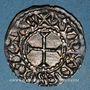 Coins Charles le Chauve (840-877). Denier. Tours