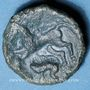Coins Aulerques Eburovices (région d'Evreux) (2e moitié du 1er siècle av. J-C). Bronze