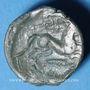 Coins Aulerques Eburovices. Région d'Evreux. Eppuduno. Bronze, 2e moitié du 1er siècle av. J-C