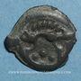Coins Aulerques Eburovices. Région d'Evreux. Potin au sanglier, vers 60-30/25 av. J-C