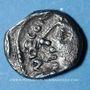Coins Carnutes. Région de Chartres. Andecombo. Denier, 2e moitié du 1er siècle av. J-C