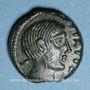 Coins Carnutes (région de Chartres) - Pixtilos (vers 40-30 av. J-C). Bronze à la déesse assise, classe V