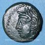 Coins Carnutes. Région de Chartres - Vandiinos. Bronze, après av. 52 J-C