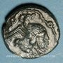 Coins Catuslogues. Région d'Eu. Bronze au type de Bracquemont, var 1, vers 60-25 av. J-C