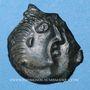 Coins Catuslogues. Région d'Eu - Vericius. Bronze, vers 60-30/25 av. J-C