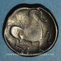 Coins Celtes du Danube. Imitation du monnayage de Philippe II. Tétradrachme, type Kinnloser.