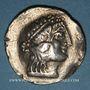 Coins Celtes du Danube. Imitation du monnayage de Thasos. Tétradrachme, vers 168-80 av. J-C