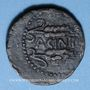 Coins Celtibérie. Acinipo. Région de Malaga. As, 1er siècle av. J-C