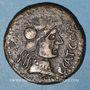 Coins Celtibérie. Ampurias. Monnayage au nom de C.CA.T.C.O.CAR.Q. Bronze
