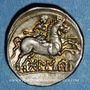 Coins Celtibérie. Bolskan. Denier, 1er siècle av. J-C
