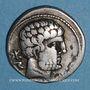 Coins Celtibérie. Bolskan. Denier, début 2e siècle av. J-C