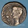 Coins Celtibérie. Caesaraugusta. Auguste (-27-14 ap. J-C). Monnayage au nom de M.PORCIVS Cn.FADIVS. Bronze