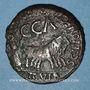 Coins Celtibérie. Caesaraugusta. Caligula (37-41). Monnayage au nom de Scipio et Montanus. Bronze