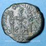 Coins Celtibérie. Caesaraugusta. Tibère (14-37) monnayage au nom de Sex Aebutius L. Lucretius, bronze