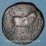 Coins Celtibérie. Calagurris. Tibère (14-37). Monnayage au nom de C. Celer Rectus. Bronze
