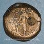 Coins Celtibérie. Carteia. Bronze, fin du 1er siècle av. J-C - début 1er siècle