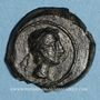 Coins Celtibérie. Castulo. Quadrans, fin 2e siècle av. J-C