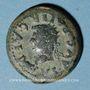 Coins Celtibérie. Emerita Augusta. Auguste (27 av. - 14 ap. J-C). Dupondius frappé sous Tibère