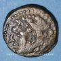 Coins Celtibérie. Gadir. Quart d'unité en bronze,  2e siècle av. J-C.