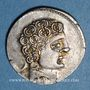 Coins Celtibérie. Sekobirikes. Denie, 1er siècle av. J-Cr