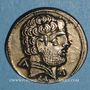 Coins Celtibérie. Turiaso. Denier, début 1er siècle av. J-C